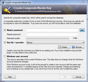 KeePass Setup File