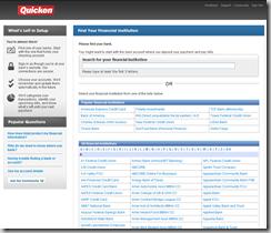 Quicken Online Signup