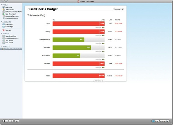 Quicken Essentials Review Budget