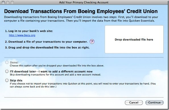 Quicken Essentials for Mac Review Transactions
