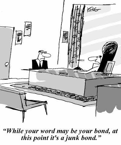 Junk Bond Comic