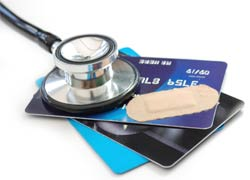 credit cards score health